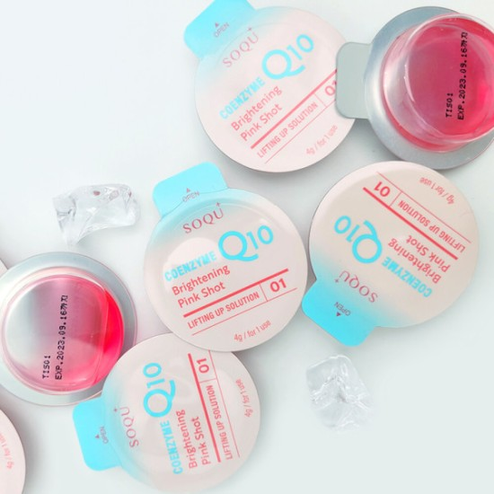 LIFTING UP FACE MASK SOLUTION Pink -   (BOX)  해외 전용
